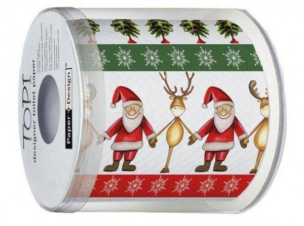 Id e cadeau - Papier toilette noel ...