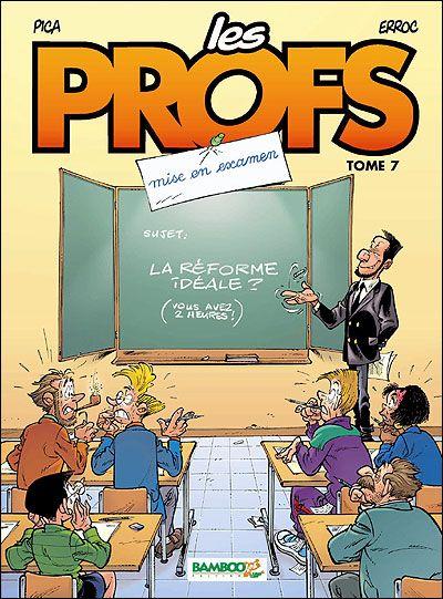 10 Tomes - Les Profs [BD][PDF][FRENCH]